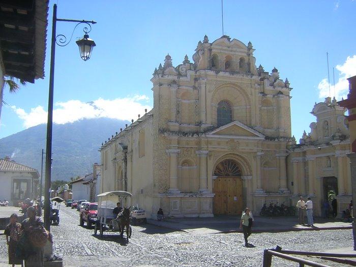 Una Iglesia en Antigua