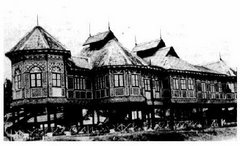 Istana Sultan Mudzaffar Syah III, dahulu