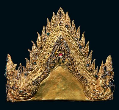 Mahkota Permaisuri Raja Siam Islam Ayuthia