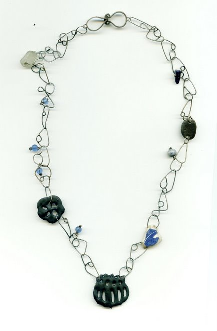 K-21 silver, copper, ceramic, glass, enamel