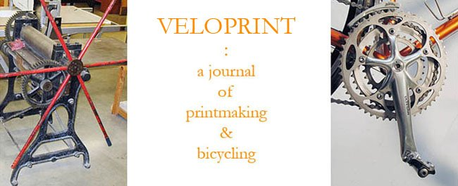 VELOPRINT : A Journal of Printmaking and Bicycling