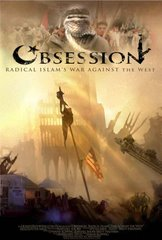 Obsession (couverture du DVD) guerre entre l'Islam radical et l'Occident.
