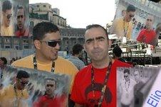 Paolo con Elio... vari click