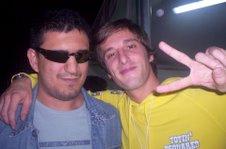 Paolo con Luca Dirisio