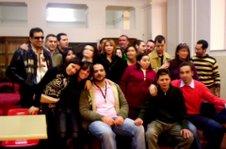Foto di Gruppo: parte degli studenti del Colosimo