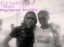 Paolo con Cristiano dei Marlene Kuntz