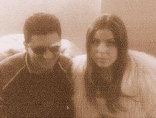 Paolo con Raffaella Lecciso