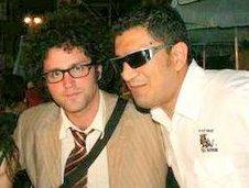 Paolo con Simone Cristicchi