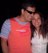 Paolo con Francesca Alotta