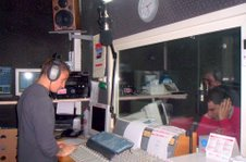 durante la diretta su Radio Amore