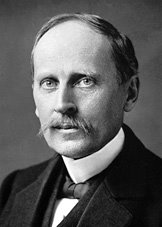 El escritor francs Romain Rolland (1866-1944), Premio Nobel de Literatura del ao 1915