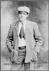 Jack London, Melbourne, 1908; hecho un pibe...