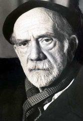 Fotografía del rostro de Pío Baroja
