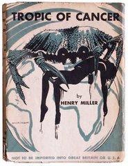 """Una de las primeras ediciones de """"Trópico de Cáncer"""", de Henry Miller"""