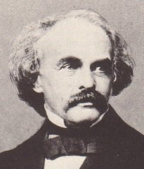 Un retrato del escritor Nathaniel Hawthorne