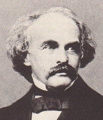 Un retrato del escritor Nathaniel Hawthorne
