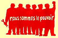 Afiche muy conocido hecho durante las revueltas parisinas del Mayo Francés, 1968