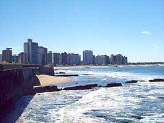 Vista panorámica de la ciudad de Miramar, en la Costa Atlántica