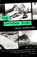 """Portada de una edición norteamericana de """"Los Vagabundos del Dharma"""""""