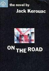 """Portada de una edición en inglés del libro más famoso de Jack Kerouac; """"On the Road"""" / En el camino"""