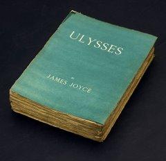 """Portada de la primera edición del """"Ulysses"""" de James Joyce"""