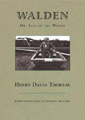 """Portada de una edición norteamericana del libro """"Walden"""" o """"La vida en los bosques"""""""