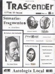 """Tapa de la revista """"Trascender"""" Nº 5"""