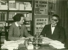 Sylvia Beach & James Joyce