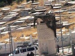 """Le cimetière musulman, intégré dans la colonie, est interdit d""""accès aux  palestiniens"""