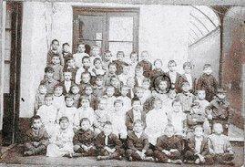 Foto escolar de Gardel