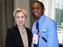 Hillary Clinton 2008; Hodari P.T. Brown 2024