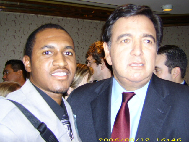 New Mexico Governor Bill Richardson and myself