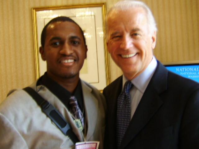 Delaware U.S. Senator Joe Biden