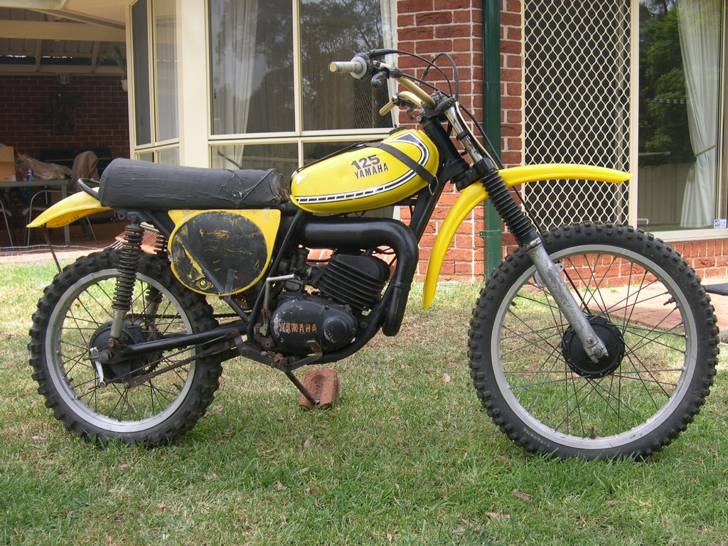 Vintage yz mx 1975 yz125b for 1979 yamaha yz80 for sale