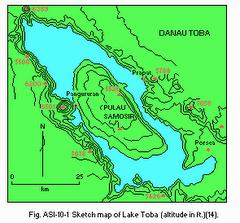 Peta Danau Toba