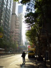 Early morning in Wan Chai