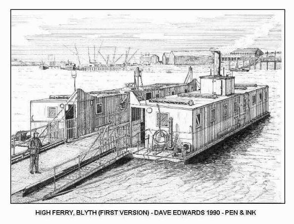 This next one was the most popular of all my Blyth drawings and I sold over 1,000 prints of it.