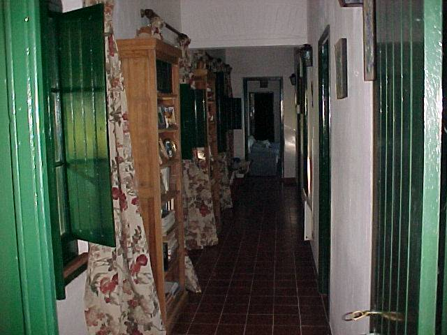Internal corridor towards rooms