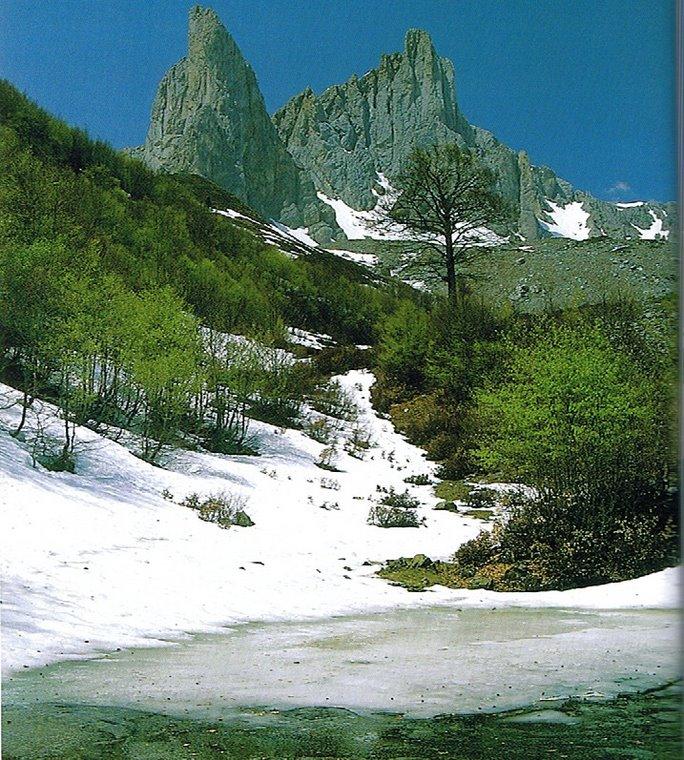 Agujas de Ansabère (Pirineos)