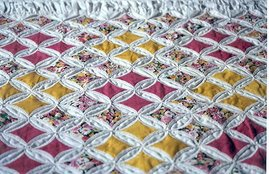 Cathedral Window Quilt Project