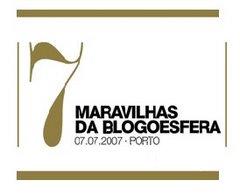 Nomeação para as 7 maravilhas da blogoesfera