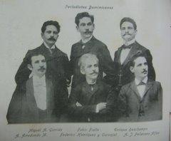 LOS MÁS IMPORTANTES PERIODISTAS DOMINICANOS, 1906: