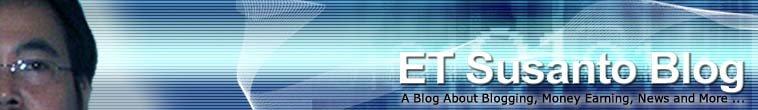 ET Susanto Blog