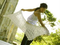 Lily of the Valley Shawl