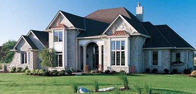 Casa terminada en piedra