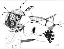 """Dibujos :                 Serie - """"Los Ojos Del Universo"""""""
