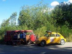 De Brazil a Ushuaia en Combi... y las mejores frambuezas de Bariloche
