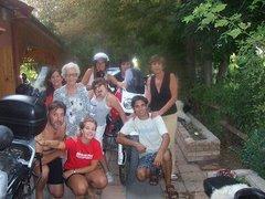 """Nuestro primo Marcos y su """"Familia Motoquera"""""""