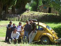 En la comunidad Mapuche de Chiquilihuin