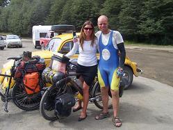 David de Belgica... de Alaska a Ushuaia en Bici